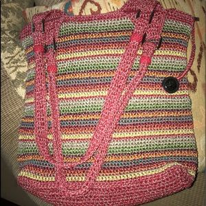 "The Sak Handbag Knit 16x16x4 14"" Drop PERFECT!!"
